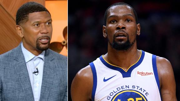 Jalen: Durant wasn't lead domino for the Nets