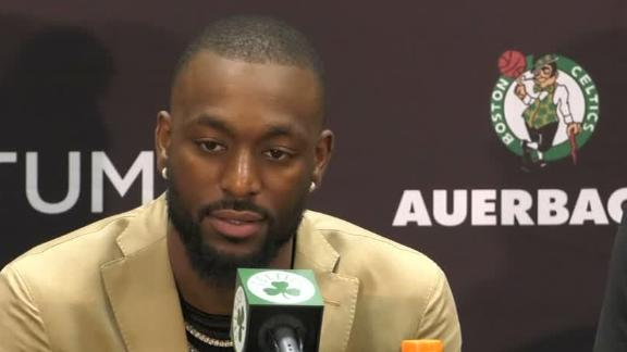 Kemba on joining Celtics: 'I want to win'