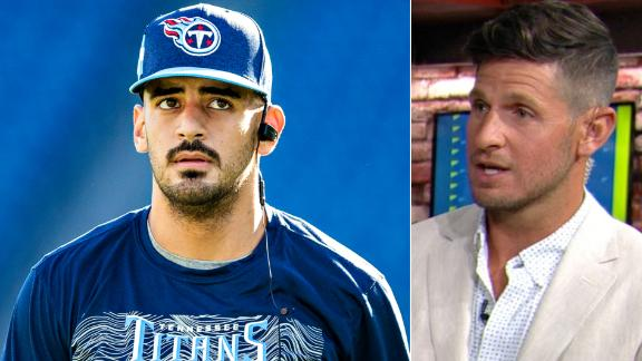 Orlovsky urges Titans to wait on a long-term deal for Mariota