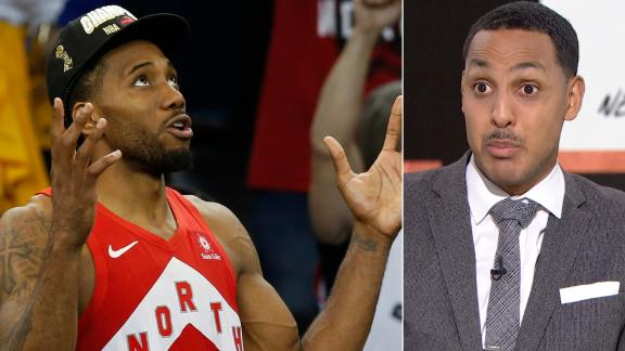 Hollins: No way you can't call Kawhi a great leader