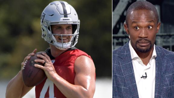 Foxworth: Carr is playing for his job this year