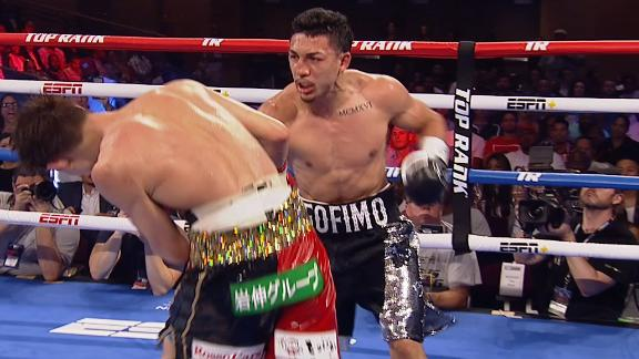 Lopez and Nakatani land series of punches in Round 10