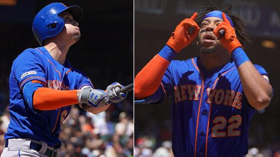Mets put on HR derby in San Francisco