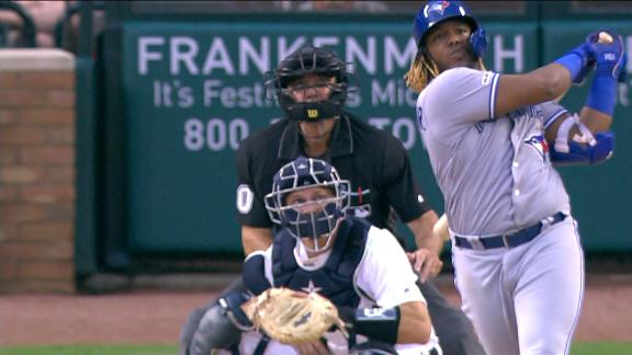 Vlad Jr. hits first career grand slam