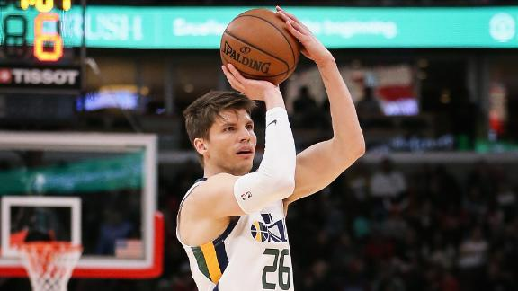 Korver should help the Bucks' 3-point shooting