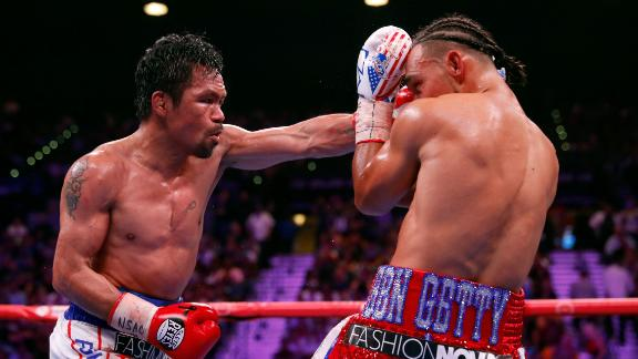 Pacquiao earns split decision victory over Thurman