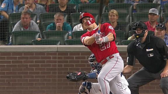 Trout smashes 3-run homer in Angels' win