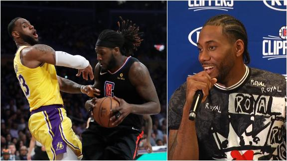 Kawhi on LA rivalry: 'The Clippers have been better'