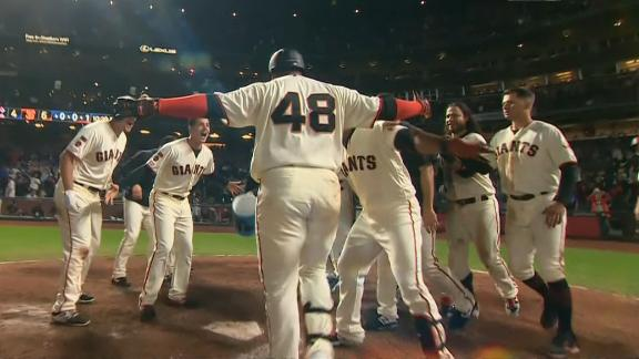Sandoval cranks walk-off homer in 13th