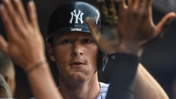 1st-year Yankee LeMahieu has exceeded expectations