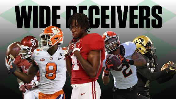 The best wide receivers in college football