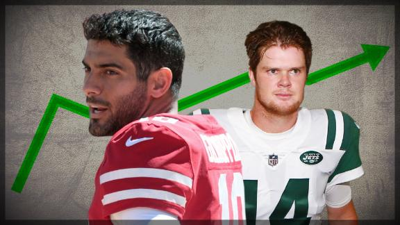 Why the Jets and 49ers are safe bets to improve this year
