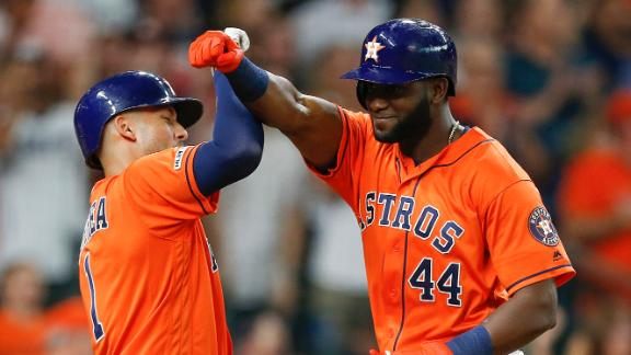 Astros tattoo M's for 6 homers