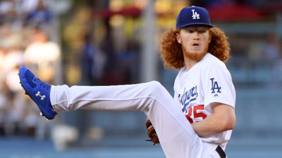 Dustin 'Gingergaard' May strikes out 3 in debut