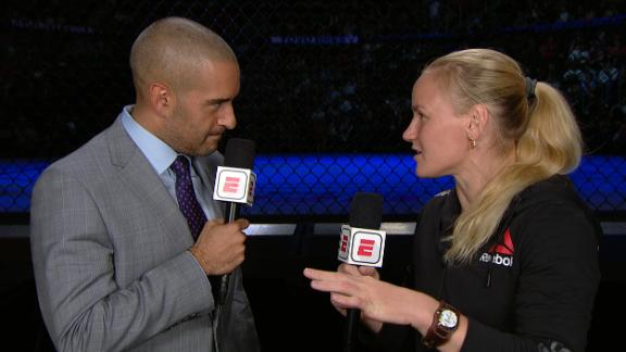 Shevchenko reflects on 2010 fight vs. Carmouche