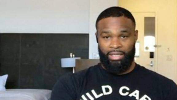 Woodley blasts Covington-Usman trash talk