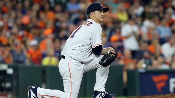 Greinke good enough to get win in Astros debut