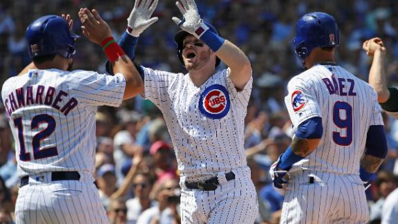 Happ hits grand slam to get Cubs going