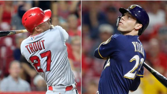 Ross: Trout, Yelich front-runners for MVP