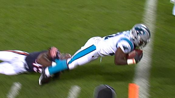 Holyfield dives for TD