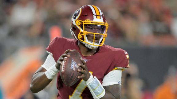 Haskins starts strong, but throws 2 INTs