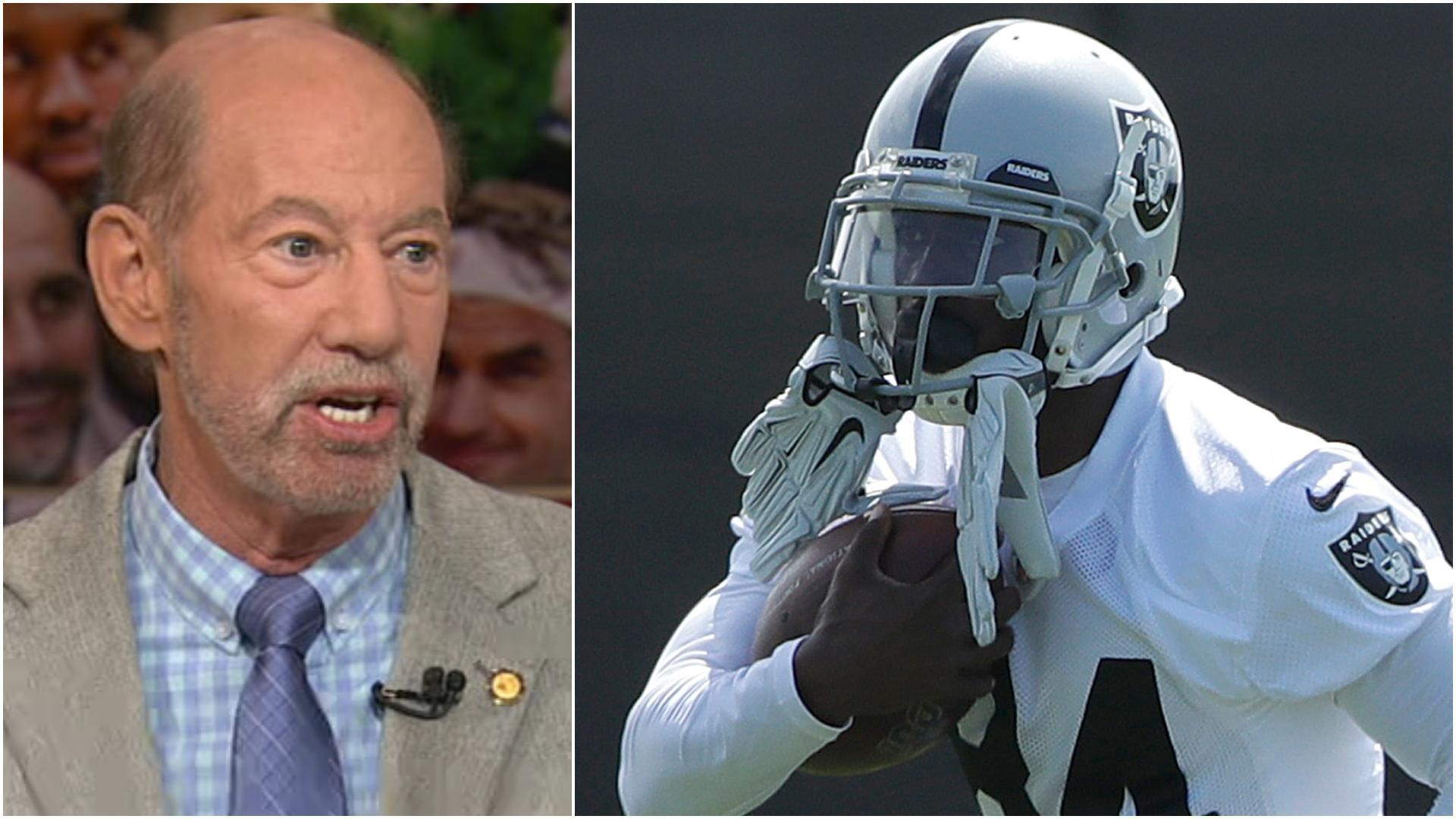 Kornheiser on AB's helmet situation: 'This can't be good'