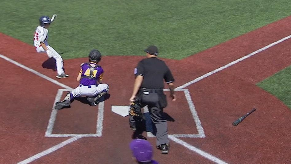 Minnesota little leaguer gets wild triple