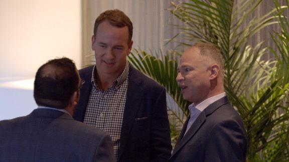 Manning, Berry visit the birthplace of fantasy football