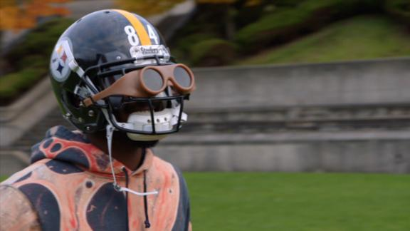 Brown dons Berry's receiving goggles