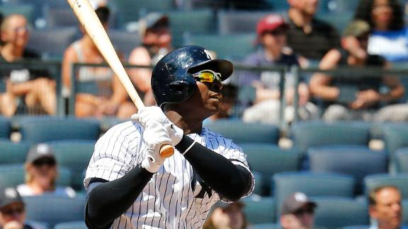Yankees belt 4 homers to take Game 1 of doubleheader