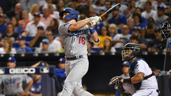 Dodgers hit 6 HRs in blowout win