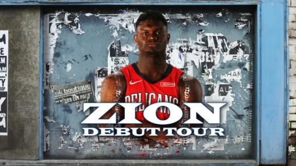 The dates to mark off on the Zion debut tour