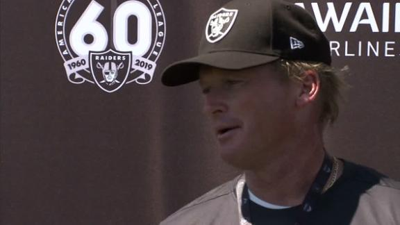 Gruden ready to get rolling with Brown in camp