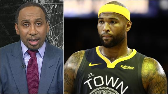 Stephen A. feels for Cousins after latest injury