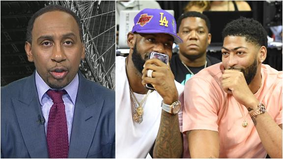 Stephen A. likes the Lakers to win championship