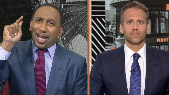 Stephen A. calls out Max for Browns hype