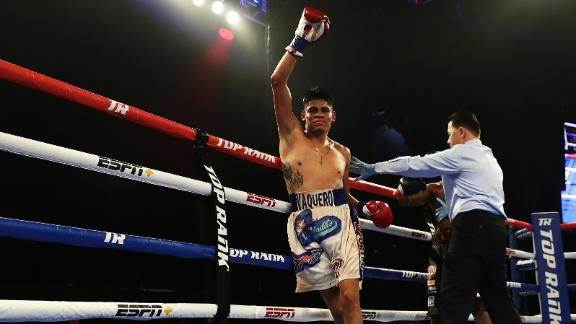 Navarrete training hard to defend his title