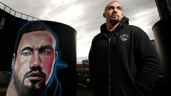 Whittaker & Adesanya's artistic face-off