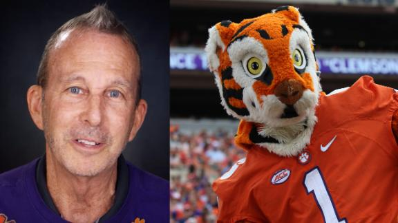 Clemson fan wants to run every college football field