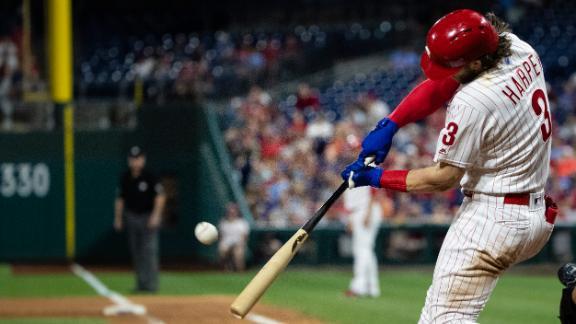 Harper stays hot with opposite-field, 3-run homer