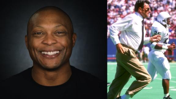 Eddie George's Penn State recruitment