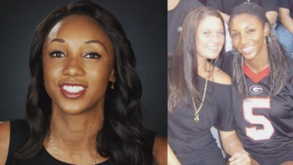 Maria Taylor attends Georgia's first-ever blackout game