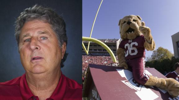 Mike Leach describes college football's worst visitor's locker room