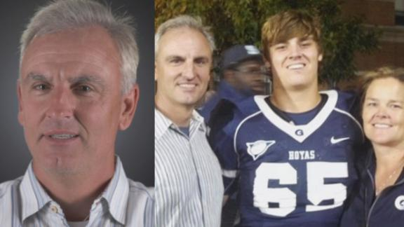 Trey Wingo recalls son's first college game