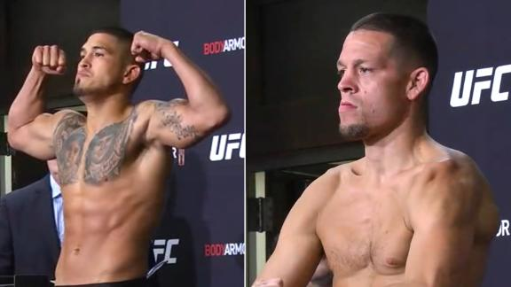 Pettis, Diaz make welterweight limit