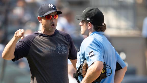 Boone, Gardner and CC ejected in Yanks' win