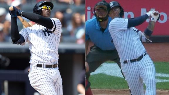 Didi, Gleyber go back-to-back in the fourth