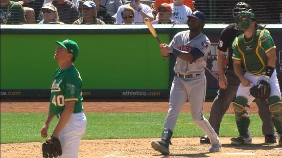 Alvarez mashes a pair of homers