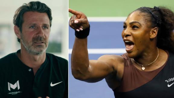 Serena vs. the umpire fantastic for tennis