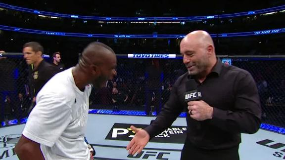 Worthy hyped to talk with Rogan after upset win